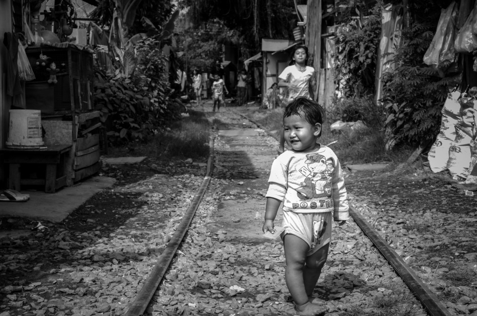 "Wrong Side of the Tracks – the ""Slums"" of Khlong Thoey"
